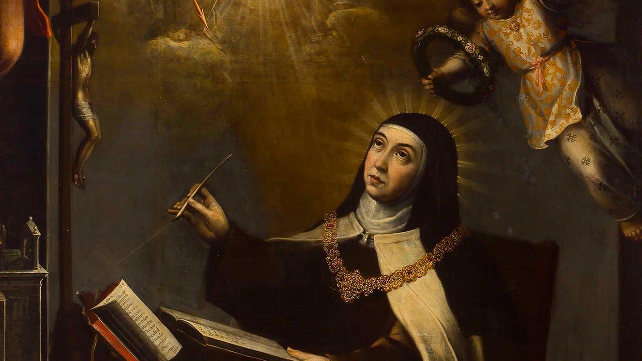 Capa da notícia: Santa Teresa d'Ávila e a perseverança na oração